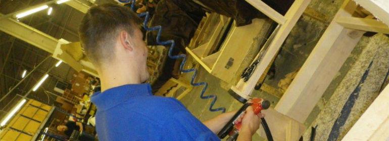 apprentice upholsterer