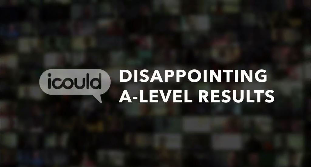Disappointing a level results
