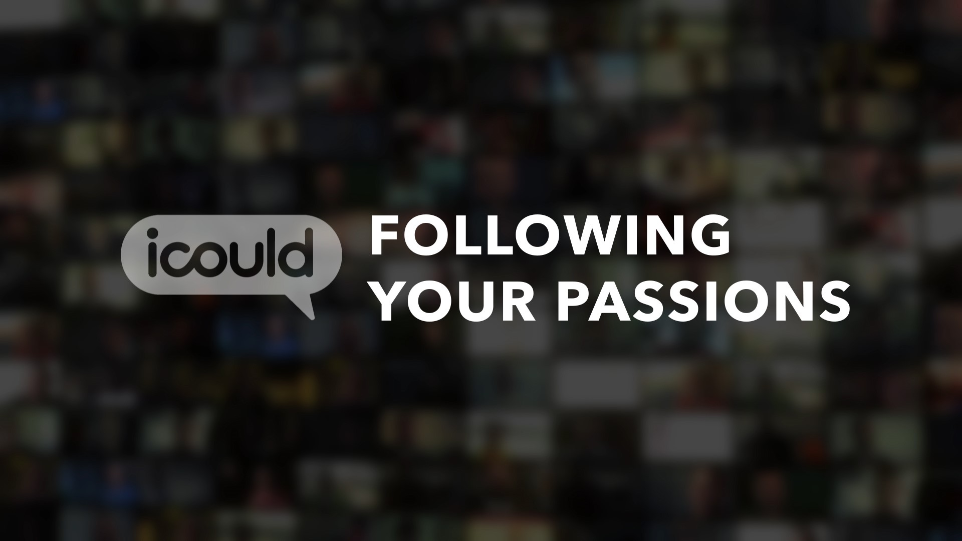 Following your passions logo